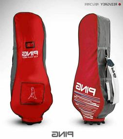 2019 Ping Premium Fabric Travel Golf Bag Cover Red Hood Case