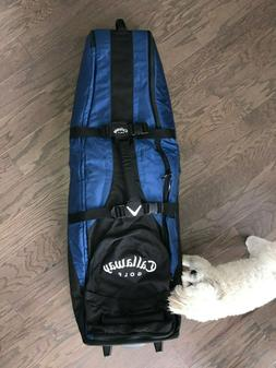 Callaway Big Bertha Golf Travel Bag NWT in Box. Padded, whee