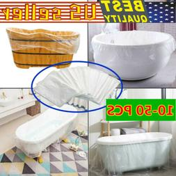 Disposable Bathtub Cover Bag Bath Tub Adequate Large Plastic