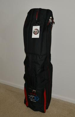 New GTB Golf Travel Bag, Black/Red, Roadster