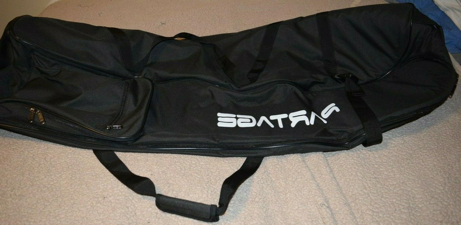 black golf travel bag for airlines new