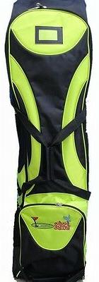 Birdie Babe Ladies Golf Club Bag Travel Cover Lime Green