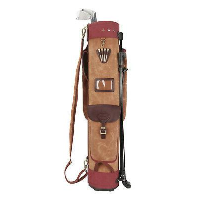 Tourbon Club Support Carry Travel Staff Canvas
