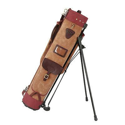 golf club stand support bag carry cart