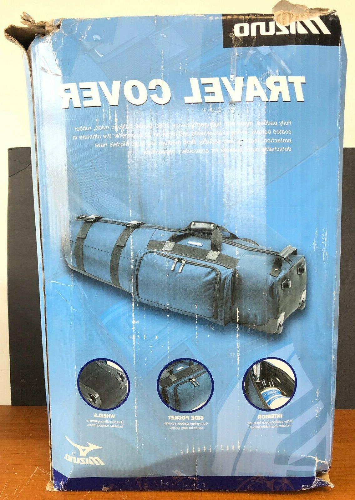 golf padded travel bag with wheels