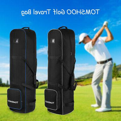 golf travel bag waterproof smooth rolling cover