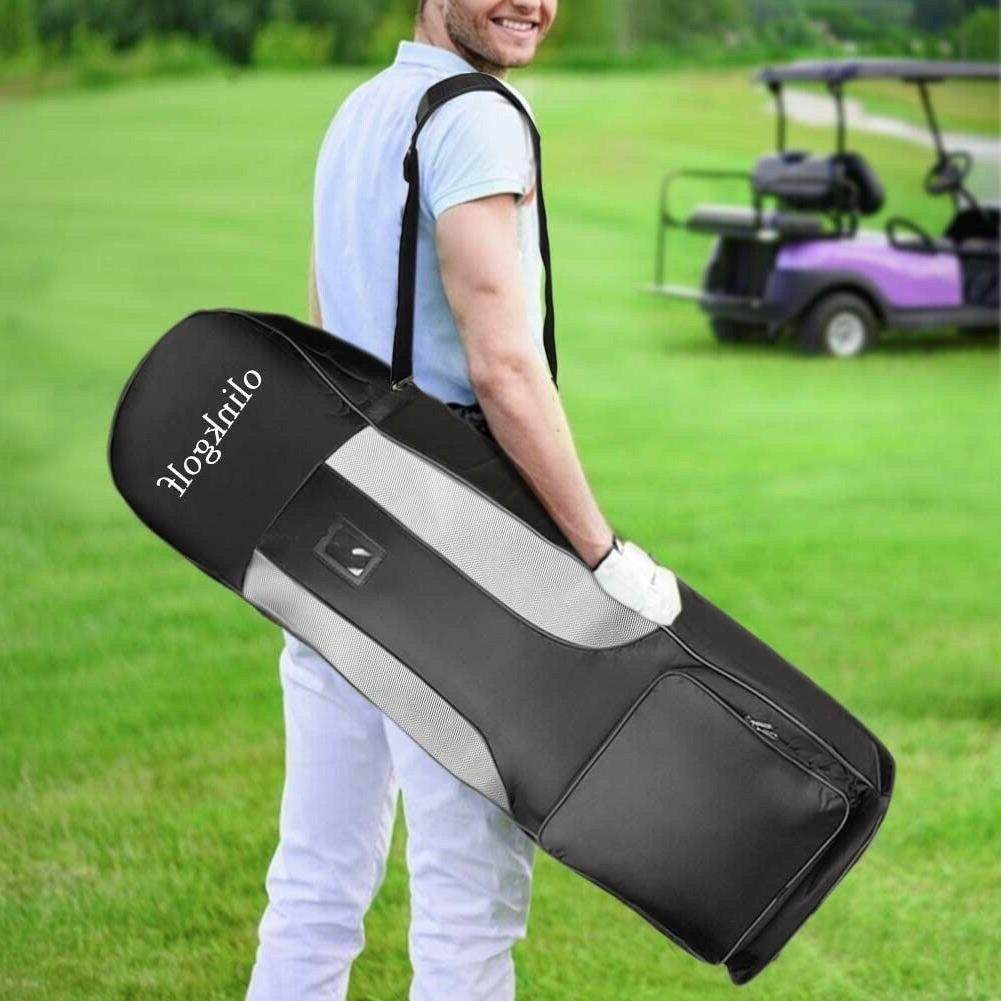 olinkgolf Bag with Wheels,Golf Travel Case for