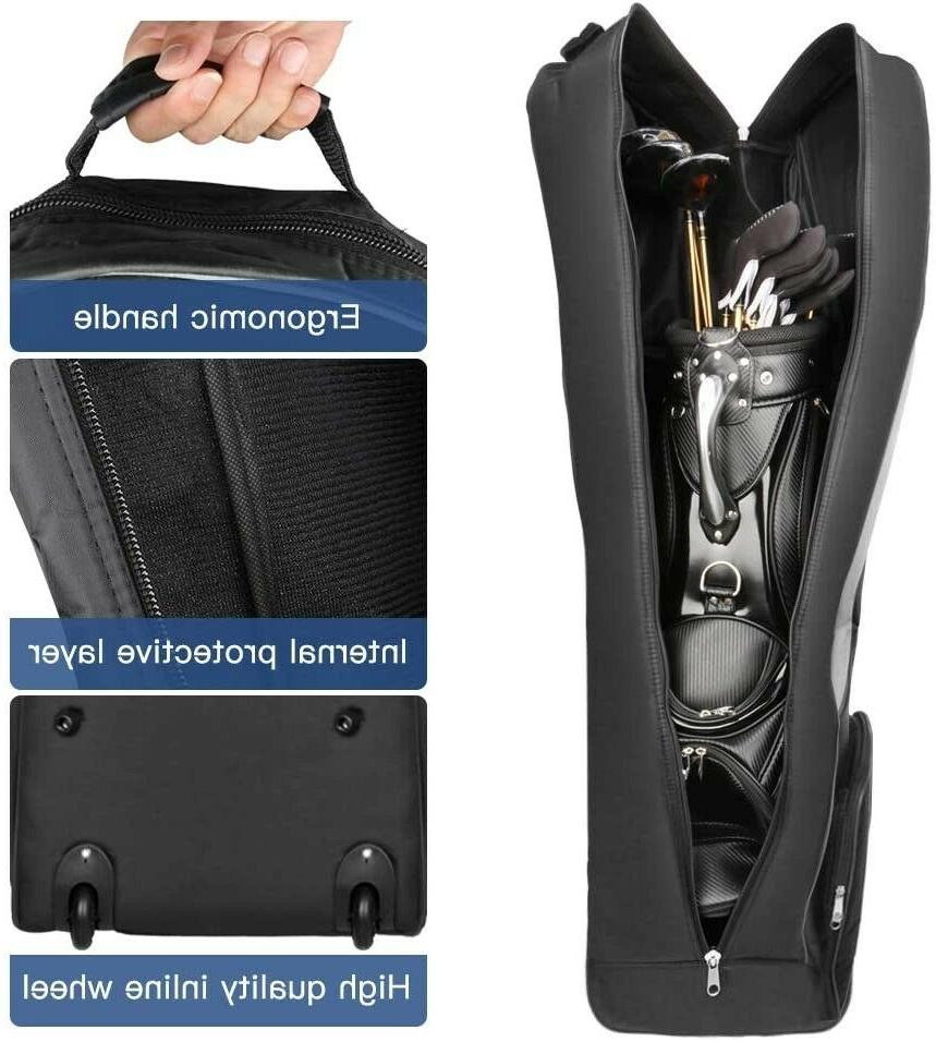 olinkgolf Bag with Wheels,Golf Case for