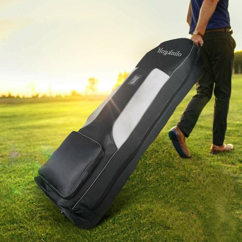 olinkgolf Golf Bag with Wheels,Golf Travel Cover Case for