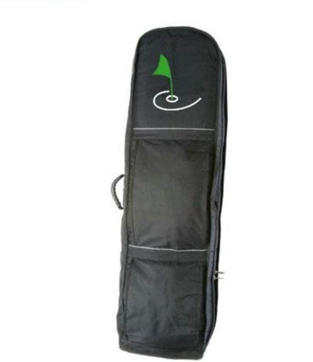 new deluxe wheeled travel golf bag