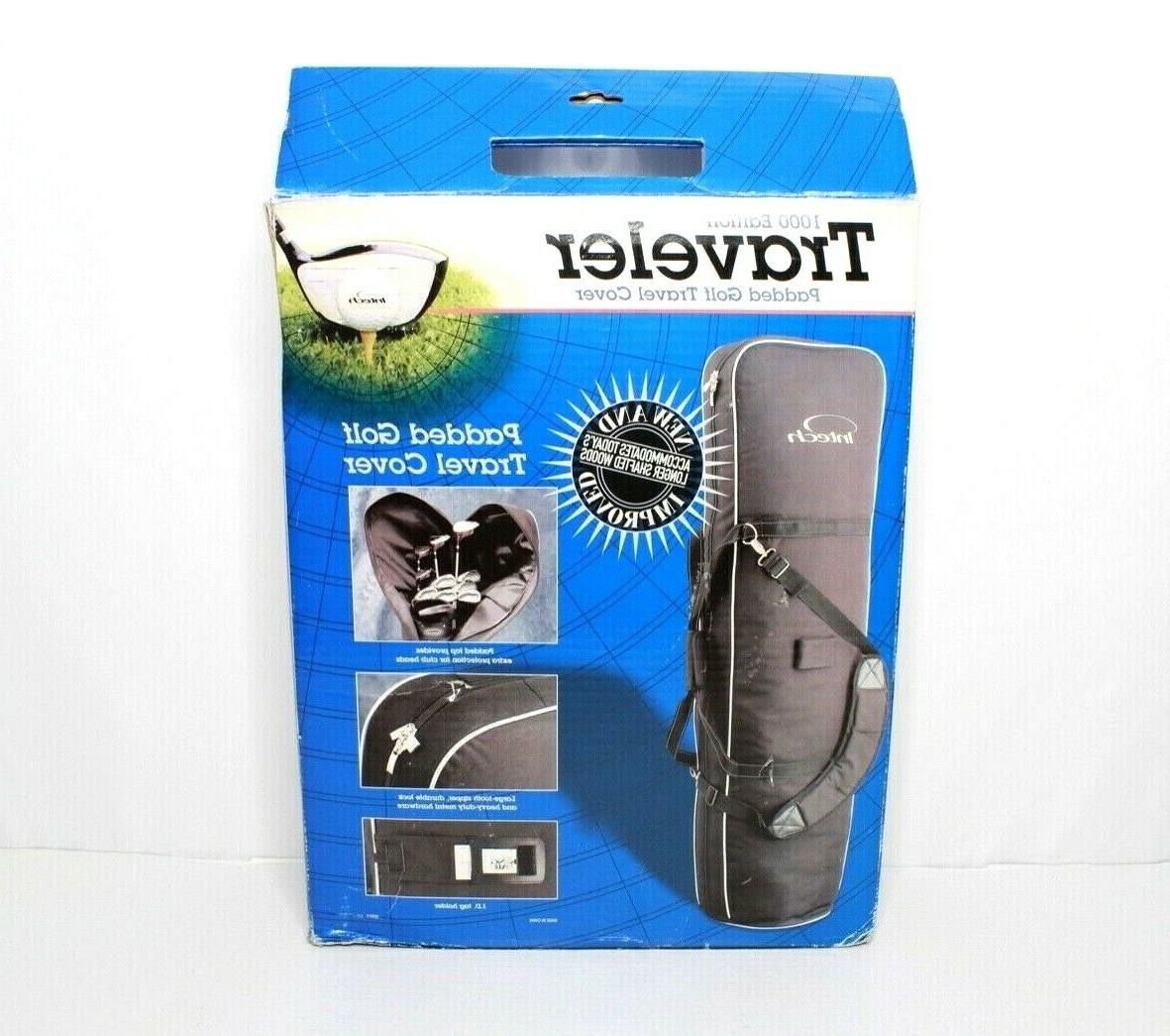New 1000 Edition Golf Travel Cover Padded Strap