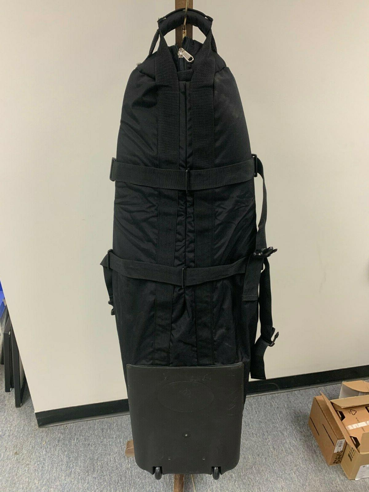 Standing Golf Gear Travel Bag Red Black Blue Condition Duty