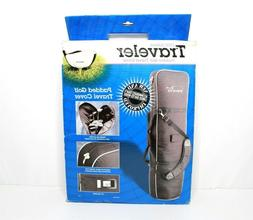 New Intech Traveler 1000 Edition Padded Golf Travel Cover Pa