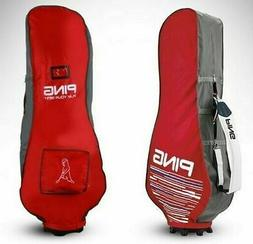 PING Travel Cover Red/Gray Nylon PVC Pouch Golf Club Bags Sp