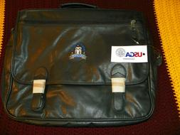 US OPEN 2003 OLYMPIA FIELDS LEATHER GOLF TRAVEL BAG