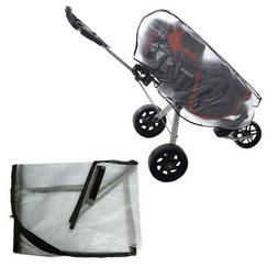 Waterproof Golf Travel Bag Rain Cover Pulley Cart Protect Ca